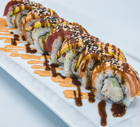 What's In The Rainbow Roll?