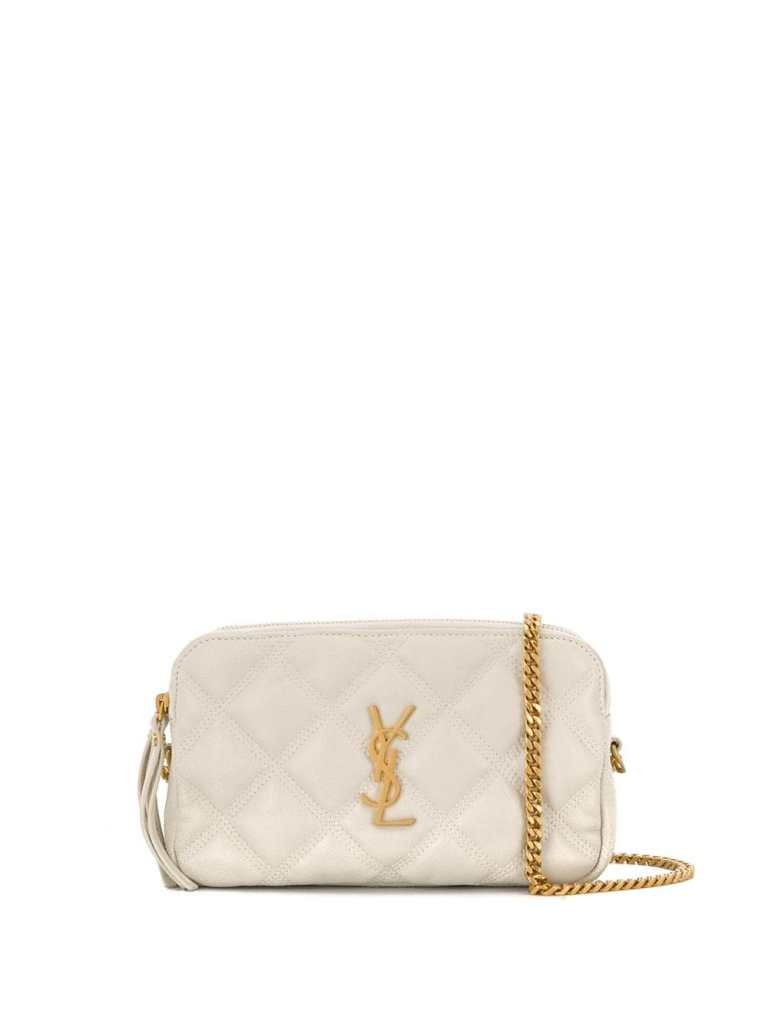 Becky quilted mini bag