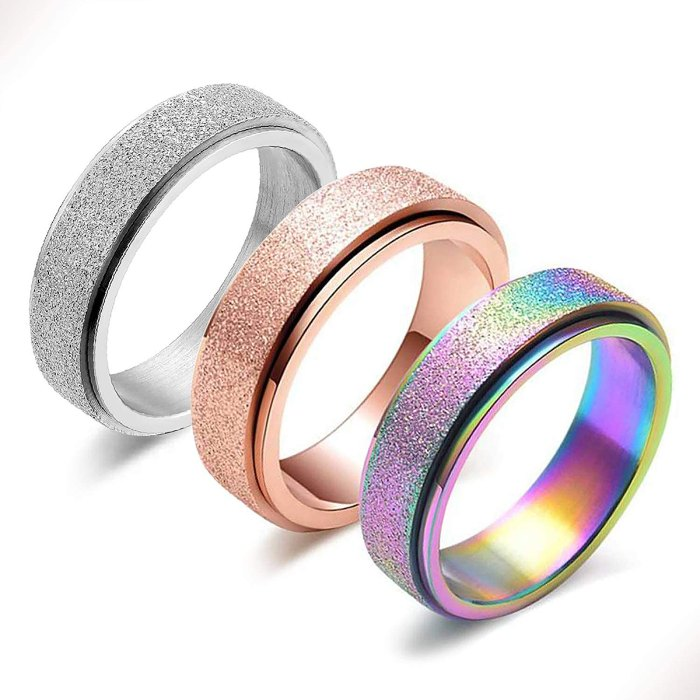 Colorful Ring Set