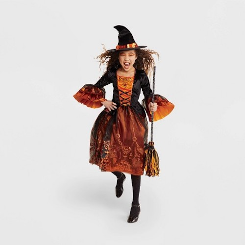 Hyde & EEK! Boutique Girls' Royal Witch Deluxe Halloween Costume