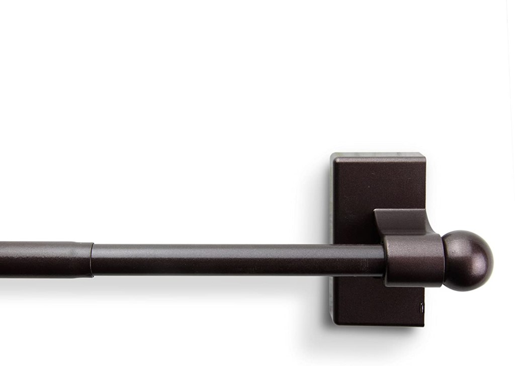 Magne Magnetic Curtain Rod 17-inch by 30-inch