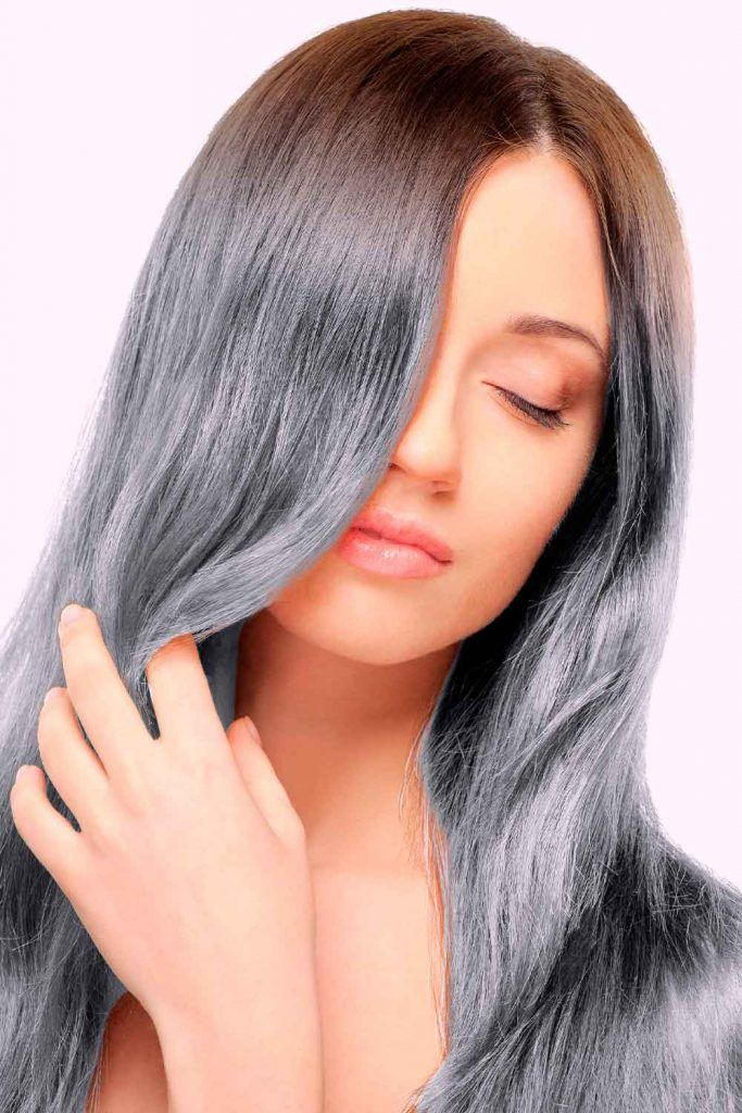 Salt And Pepper Ombre