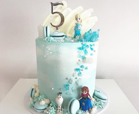 The Ultimate Frozen Cake