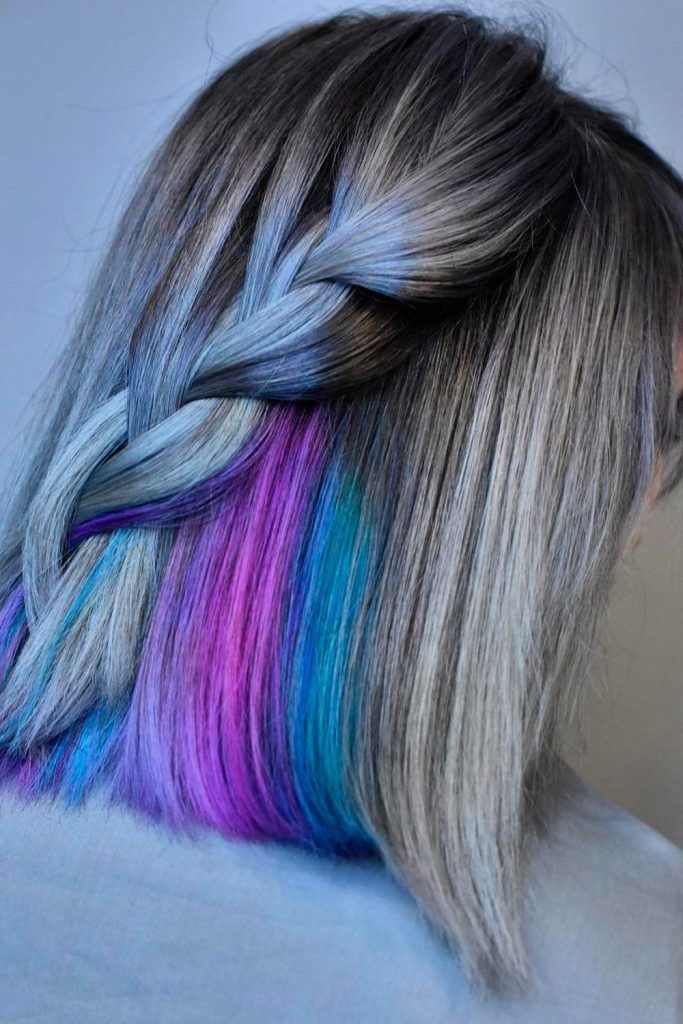 Ways To Style Salt And Pepper Color Hair